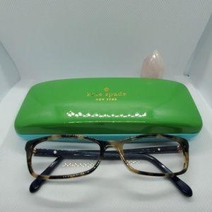 Kate Spade Prescription Glasses Frames with Case